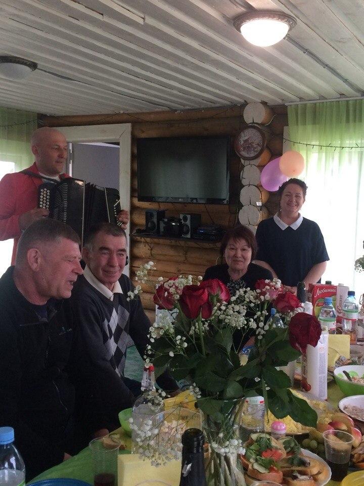 День Рожденья на базе отдыха Русская Деревня