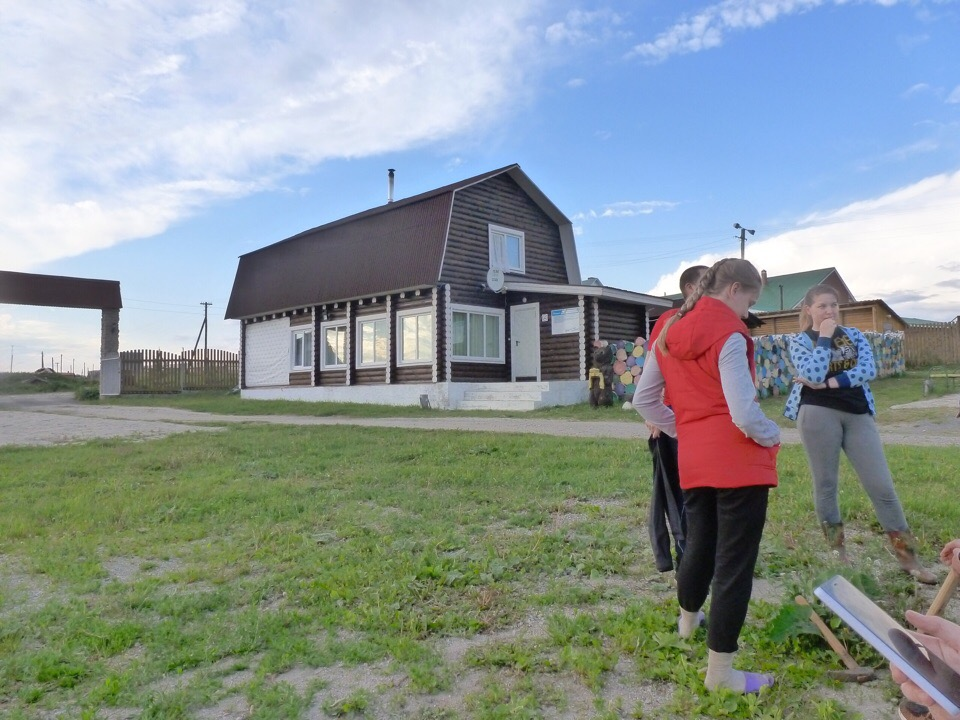 Территория базы отдыха Русская Деревня