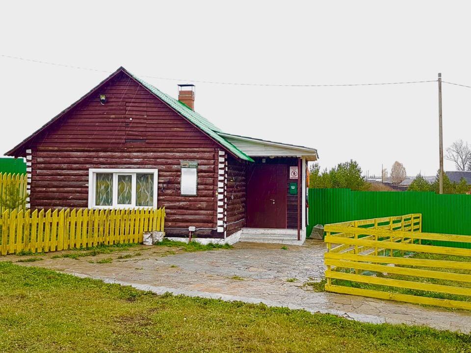 Русская Деревня - Дом рыбака и охотника