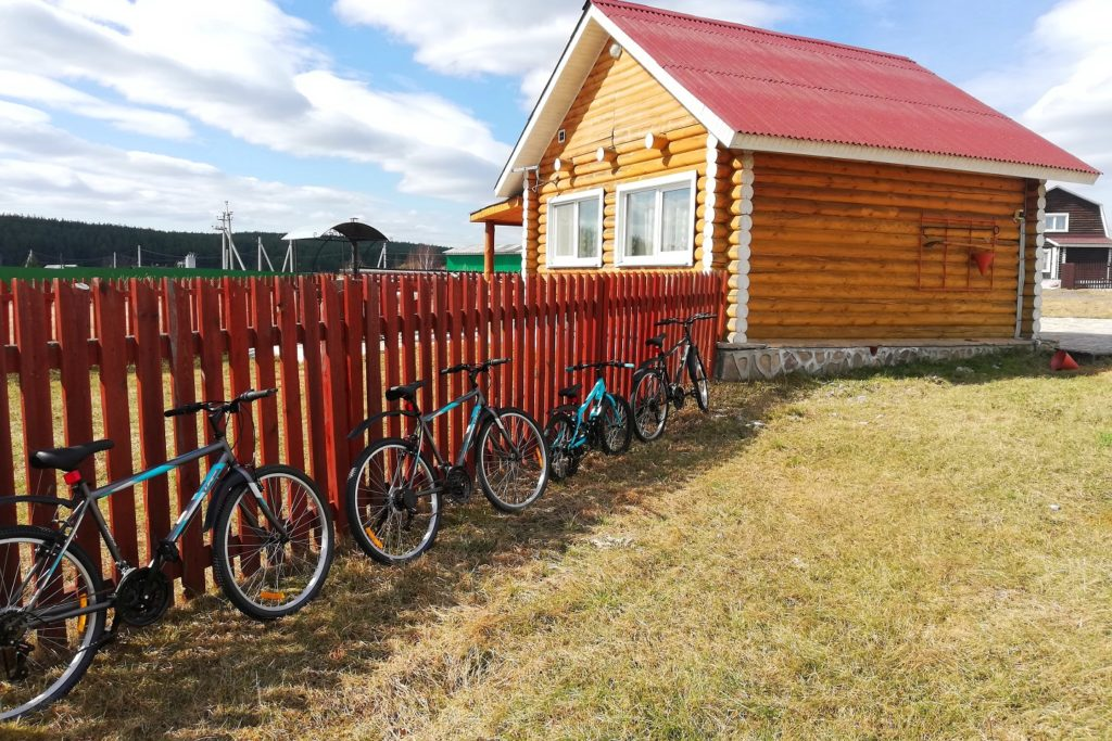Прокате велосипедов на базе отдыха